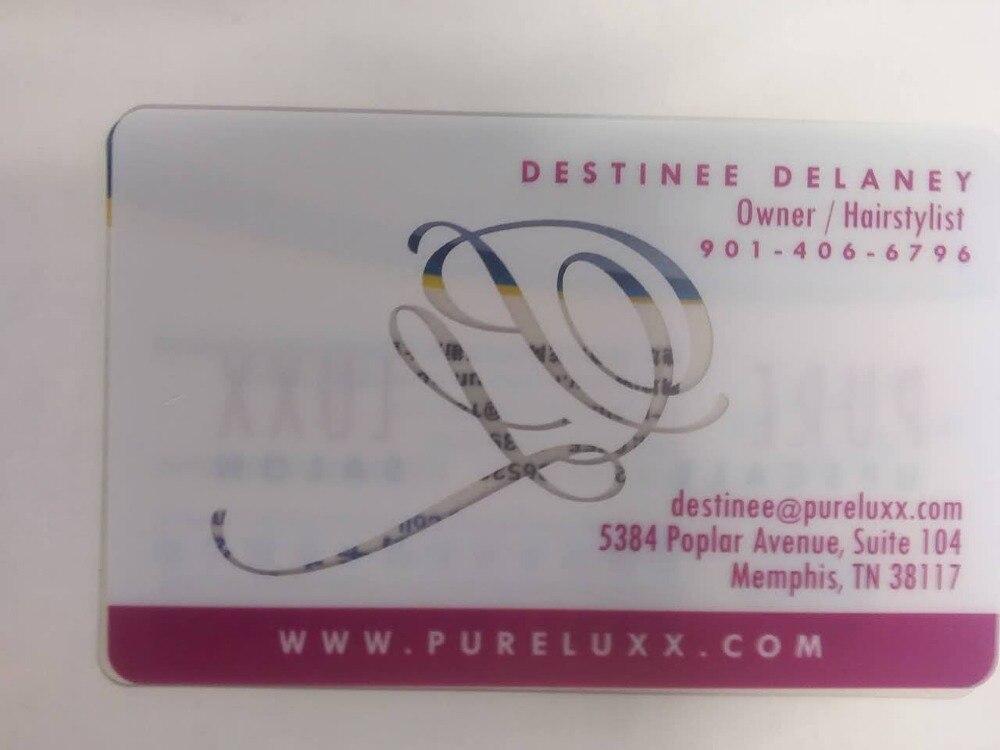 (500pcs/lot) Hot Fancy!!!High class PVC transparent card цена и фото