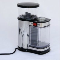 DMWD 다기능 전기 커피 그라인더 스테인레스 스틸 스파이스 시리얼 콩 밀러 홈 그라인딩 머신 9 기어 220V