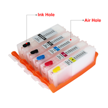 5 цветов PGI-450 CLI-451 XL многоразовый картридж с чипами ARC для CANON PIXMA IP7240 MG5440 принтер