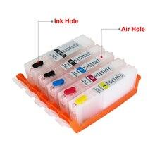 5 colors PGI-450PGBK CLI-451BK C M Y XL refillable Ink cartridge For CANON PIXMA IP7240/MG5440 printer