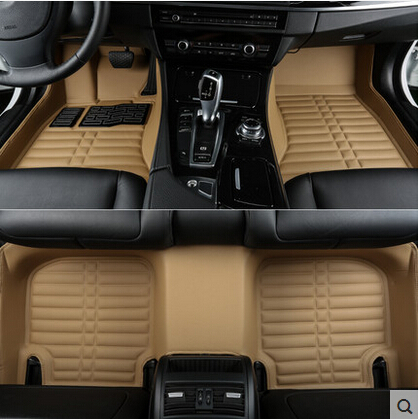 Buona qualità! personalizzato tappetini speciali per Mercedes Benz ML 350 W164 2011-2006 tappeti impermeabili per ML350 2008, Trasporto libero