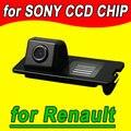 Заднего вида резервное копирование обратный парковочная камера для Renault Fluence с 2011 Duster Megane Широта водонепроницаемый NTSC PAL (необязательно)