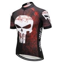 Men 2019 cycling jersey set Skull road bike clothing BIB short Summer bicycle clothes Pro dress mallot mtb sport wear male suit
