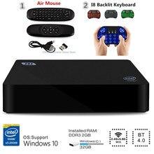 Z83II Mini PC Windows 10 Intel Atom x5-Z8350 Quad Core 2G 32G/4G 64G Smart TV