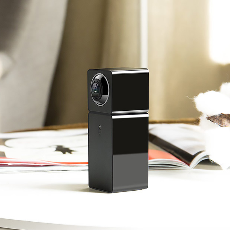 Image 5 - Xiaomi Xiaofang Camera Dual Lens Version Panoramic Smart Network IP Camera Four Screens in One Window Two way Audio Support VR-in Surveillance Cameras from Security & Protection