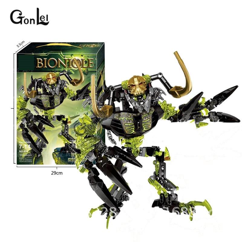 Umarak Destroyer Building Block Action Figures Warrior Toys Compatible Bionicle
