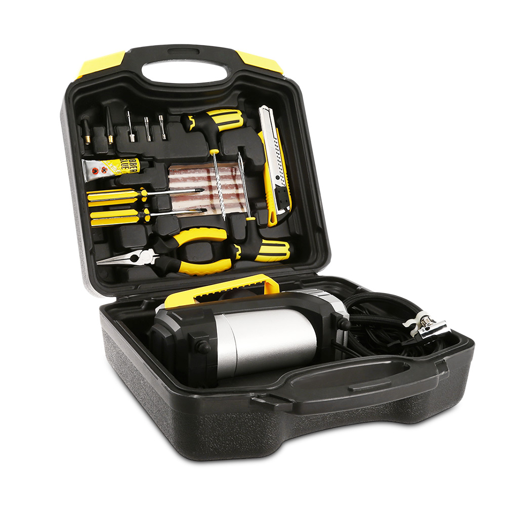 CZK 3618 Maintenance Tool Box Electric Car Pump Numerical Display Air Compressor