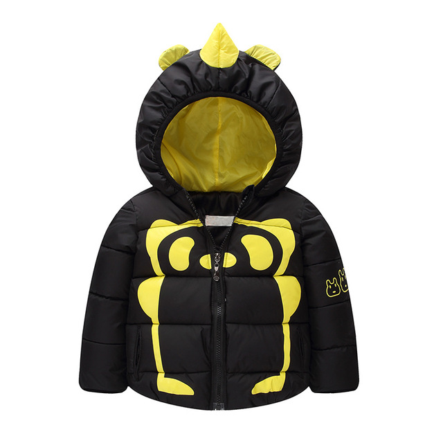 Child Clothes Baby Down Coat Jacket Parka Winter Warm Jacket Baby Boys Bear Hooded Child Down Snow Outerwear Coat