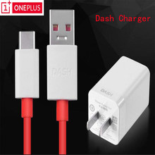 Asli Oneplus3 3 T 5 6 Dash Charger 5 V/4A Satu Ditambah Lima Enam Mobile Ponsel Power Adaptor dengan 35 Cm Dash Charge TYPE-C Kabel Data(China)