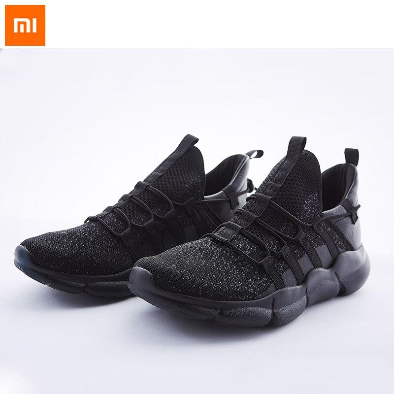 Xiaomi Mijia Youpin ulehelm à la mode volant tissé chaussures décontractées semelle polymère transpiration et ventilation choc lent anti-glissement