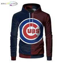 2019 New 3d Print Chicago Cubs Hoodie Men Women Hooded Sweatshirt Autumn Thin Pullover Outwear Chicago Cubs Hoodies недорго, оригинальная цена