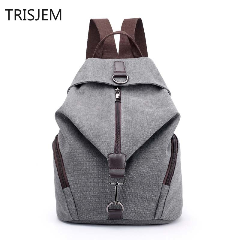 Multifunction Lady Designer Vintage Women Canvas Backpacks Female Travel Bags  Women's Backpack Sac a Dos Mochilas Mujer 39WM24-in Backpacks from Luggage & Bags on AliExpress - 11.11_Double 11_Singles' Day 1