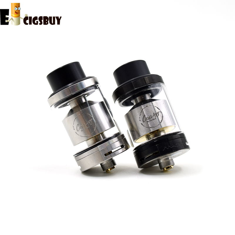 Original Coil Art Mage GTA 3 5ML 24MM Top Fill Design Black Derlin Drip Tip