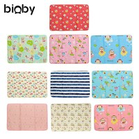 Waterproof Baby Soft Sheet Blanket Protector Urine Mat Cotton Nappies Cover Pad Bed Mattress Cover Newborn Bedding 120x150