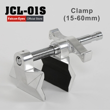 Falcon Eyes JCL-01S 15-60mm Heavy Metal C Type Clamp U Clip Bracket for Photo Studio Light Stand Camera Flash Accessories