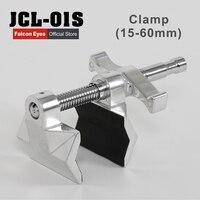 Falcon eyes jcl-01s 15-60mm schwere metall c klemme u clip halterung für foto-studio lichtständer kamera blitzzubehör