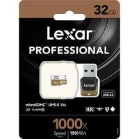 NEW!!! 1000X 150MB/s Lexar 32GB 64GB 128GB 256GB Micro SD SDHC SDXC Card U3 TF Card v60 150MB/s C10 Memory Card With Card Reader