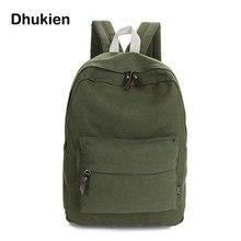 Модные холст рюкзак женщины школьные сумки для девочек-подростков Повседневная  рюкзак женский