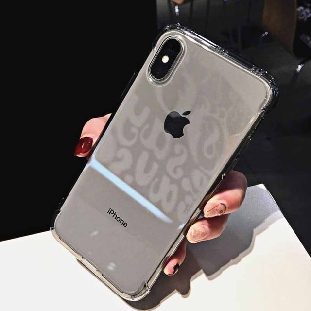 Shockproof Clear Phone Case for iPhone Xr Xs Max X 6 6S 7 8 Plus Soft