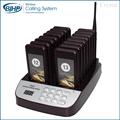 AC-CTP316 wireless queuing digtal calling management system alphanumeric pager pizza restaurant meal ready alarm buzzer