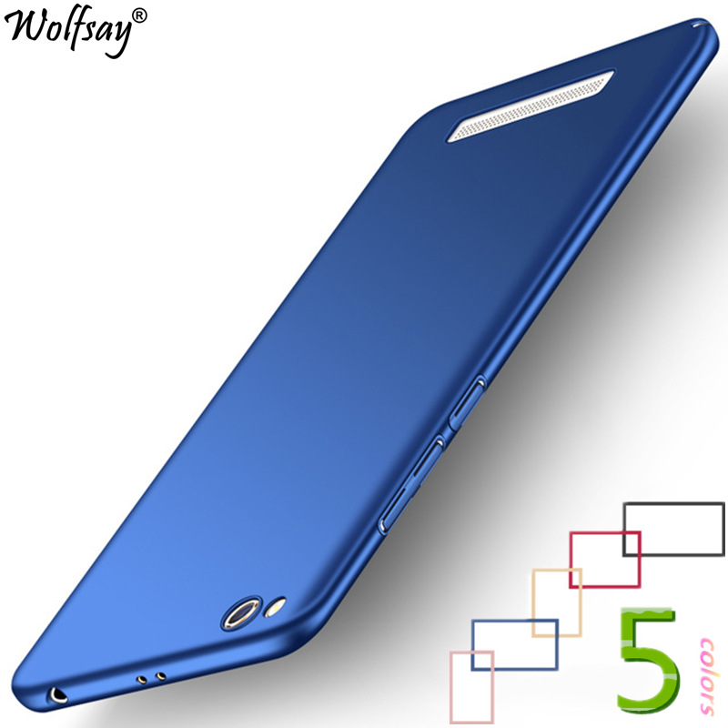 Wolfsay For Cover Xiaomi Redmi 5A Case Fashion Luxury Plastic Matte PC Case SFor Xiaomi Redmi 5A Cover Redmi 5A Phone Case Funda