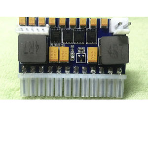 Image 3 - 250W DC ATX güç kaynağı kurulu DC 12V Pico ATX anahtarı PSU araba oto 24pin ITX güç modülü