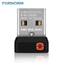אלחוטי Dongle מקלט מאחד USB מתאם עבור Logitech עכבר מקלדת להתחבר 6 מכשיר עבור MX M905 M950 M505 M510 M525 וכו