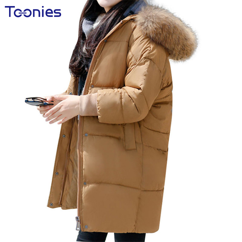 Plus Size Winter Coat Women Padded Parka and Jackets With Faux Fur Hooded Zipper Pockets Thick Warm Wadded Parkas Ladies Tops women winter coat cotton wadded clothing zipper female hooded thick coats slim warm parkas pockets ladies outerwear plus size