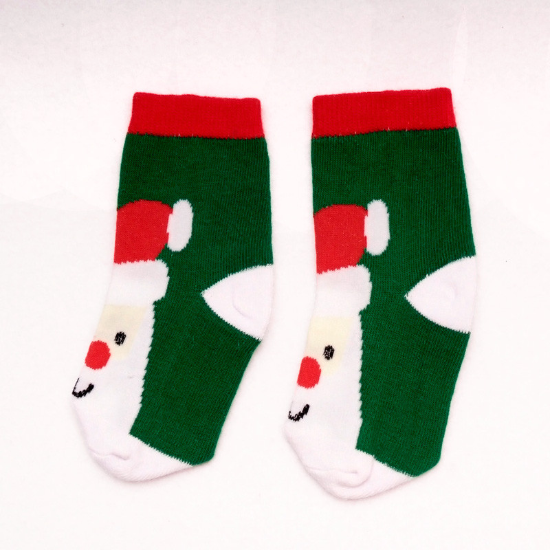 LAWADKA Christmas Gift Soft Cotton Newborn Baby Girl Socks Cute Cartoon Pattern Kids Socks Boys For Baby Girls Socks 0-5 years 5