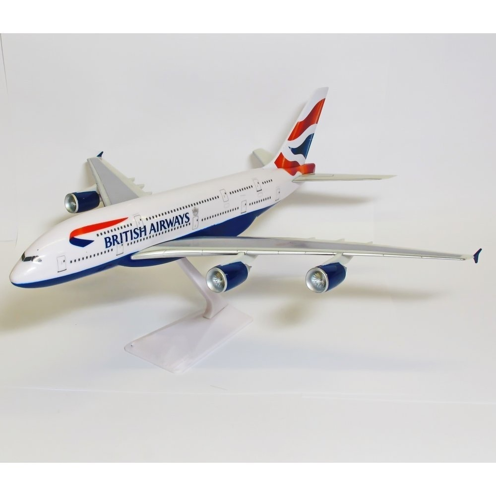 British Airways A380 Model Aircraft 1/400 Scale Gemini Jets Diecast Metal Model Plane