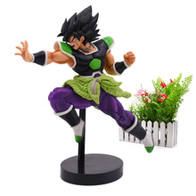 Amine Doll Dragon Ball Z ULTIMATE SOLDIERS SUPER Broly Broli PVC Action Figure Collection Model Christmas Toy