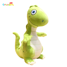 1PCS 25/35/50CM Cartoon Soft Green Dinosaur Plush Toy Stuffed Animals Comforting Dolls High Quality Kids Gifts