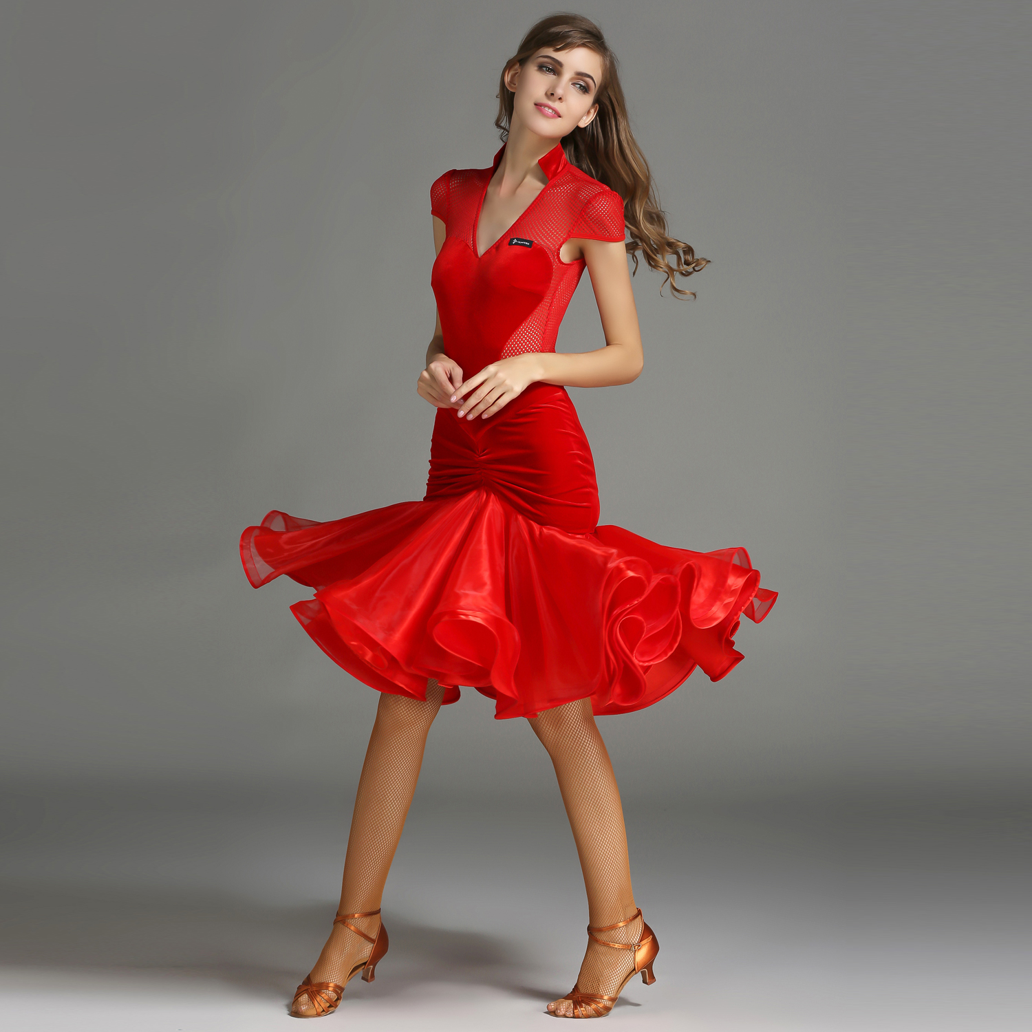 Latin Dance Costume Top Leotard and Skirt Suits Women Lady Adult Dress Ballroom Practice Clothes Costume Evening Party Dress 1846 and 1847 latin dance top and skirt suits dance dress ballroom costume leotard women lady adult evening party dress