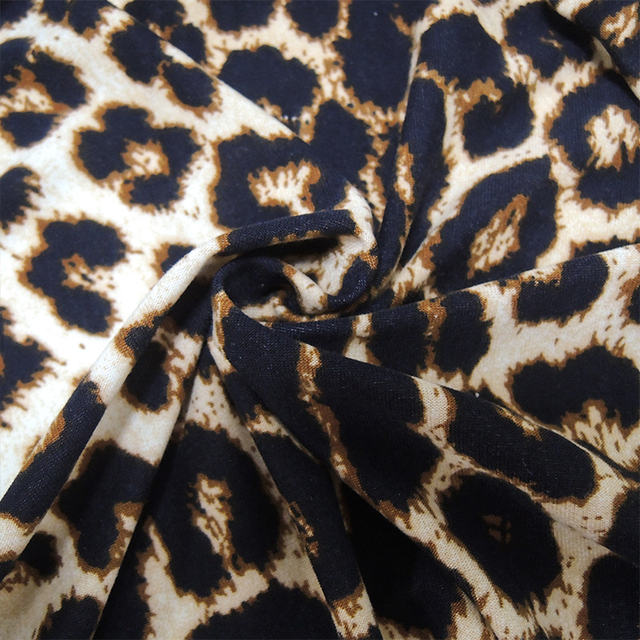 YTL Female Big Size Spring Autumn Grey Leopard Deep V Neck Long Sleeve Slim Tunic Top Large Size Blouses Women 5XL 6XL 7XL H088 5