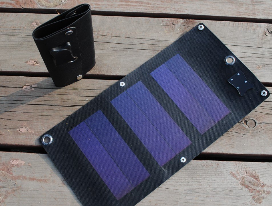 flexible solar panel of silicon foldable,very slim 3W/5V with USB for Diy,phone charger,solar bag