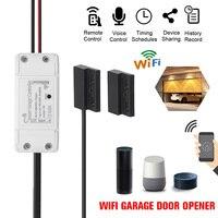 NEW WiFi Switch Smart Garage Door Opener Controller with Alexa Google Home and IFTT Smart Life/Tuya APP control
