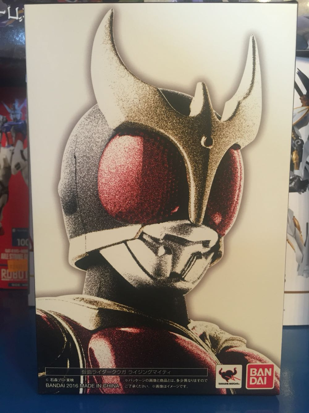 "Image 2 - ""Cavalier masqué Kuuga"" Original BANDAI Tamashii Nations S. H. Figuarts (SHF) figurine daction Kamen Rider Kuuga levant puissantbandai dollfigure pvcbandai naruto figures -"