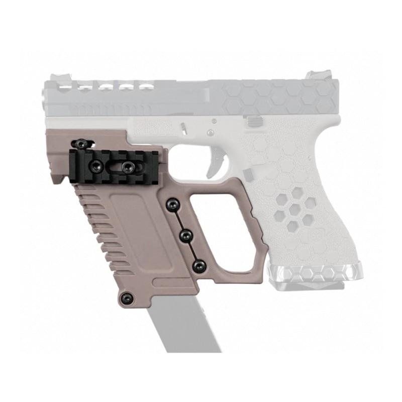 Hohe QuantityTactical Pistole Carbine Kit Glock Airsoft Air Pistolen Halterung Für CS G17 18 19 Gun Zubehör Laden gerät Jagd