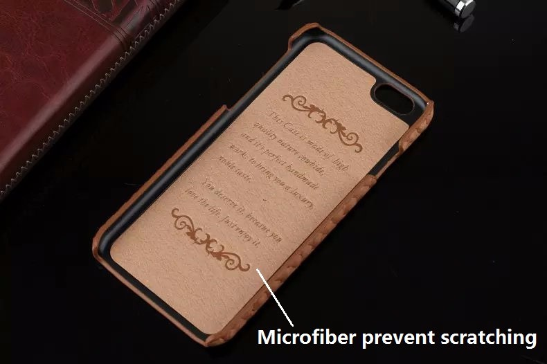 Luxury snake pattern genuine leather case for iPhone6 iPhone 6 Plus 5.5