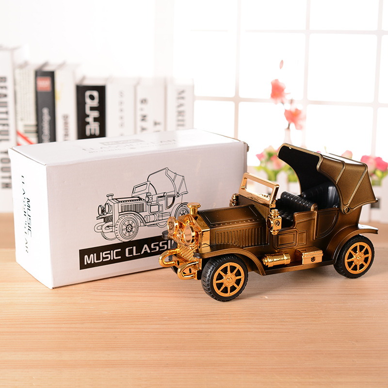 Ретро-винтаждық Car Music Box автомобиль - Үйдің декоры - фото 6