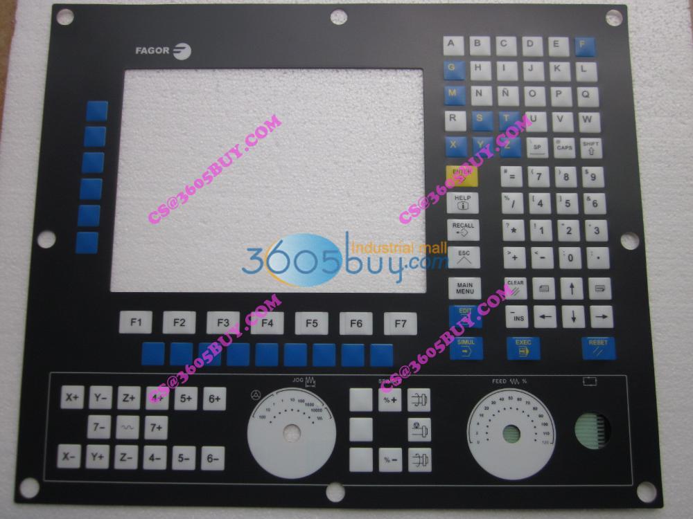 8055 button mask keysters panel operation panel