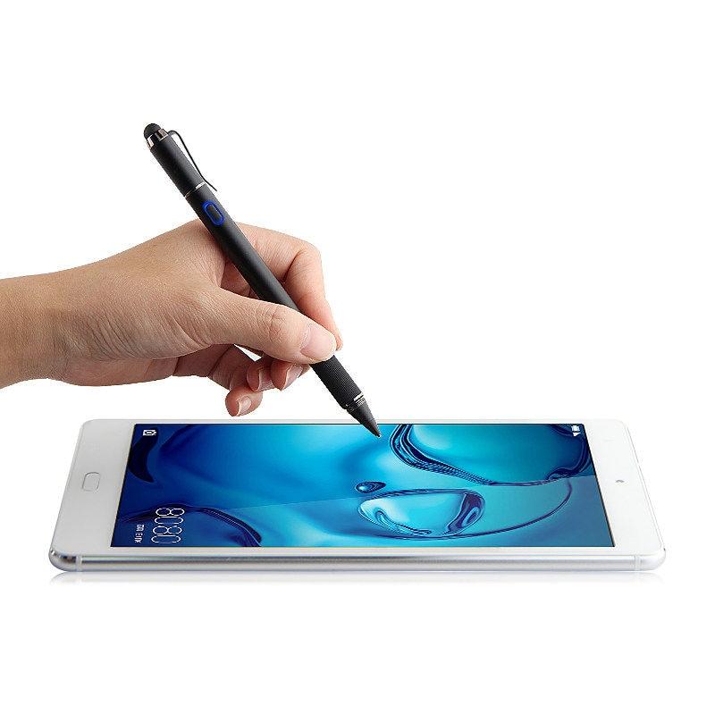 Stylo Active Stylus Capacitif Écran Tactile Pour Samsung Galaxy Tab S3 S2 S4 8 9.7 10.1 10.5 Un S E 9.6 8.0 7 T535 T530 Tablet cas