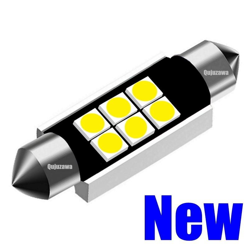 2x 39mm 8-LED GREEN FESTOON INTERIOR LIGHT GLOBES//BULBS Car//Auto//Boat//Trailer