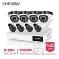 8CH CCTV System HDMI Network DVR 8 PCS 720P IR CCTV Camera Home Security System Surveillance Kits No HDD