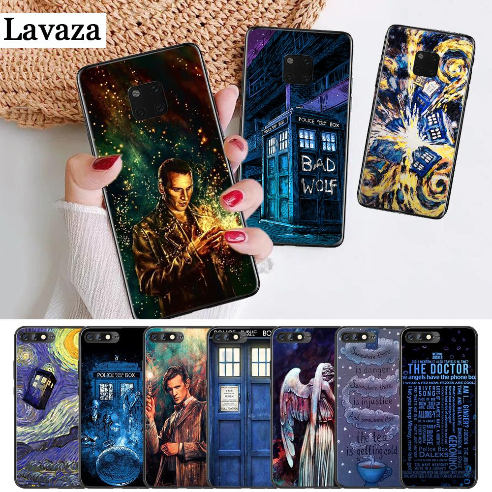 Lavaza Tardis Box Doctor Who On Sale Silicone Case For Huawei Mate 10 Pro 20 Lite Nova 2i 3 3i 4 Y5 2017 Y6 2018 Y7 Prime Y9 Suitable For Men Women And Children