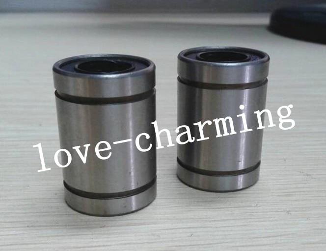 100 Pcs 8 mm LM8UU Motion Liner Ball Bush Bushing Ball Bearing LM Series CNC