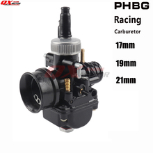 New Motorcycle 17 19 21mm Racing Carburetor For  PHBG DS Fit 50cc-100cc 2 stroke Scooter Moped free shipping