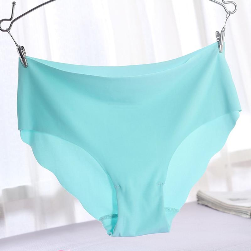 High Quality Panties Big Size Underwear Women Briefs Smooth Seamless Sexy Panties 7 Solid Color Brand Women Underwear Briefs