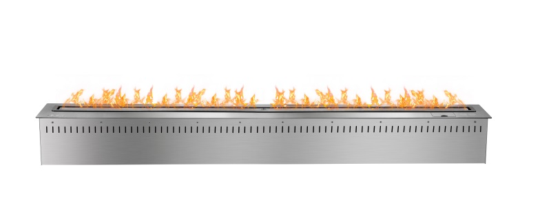 Free Shipping To Door 60 Inch Smart  Remote Control Silver Or Black  Ventless Electric Fireplaces