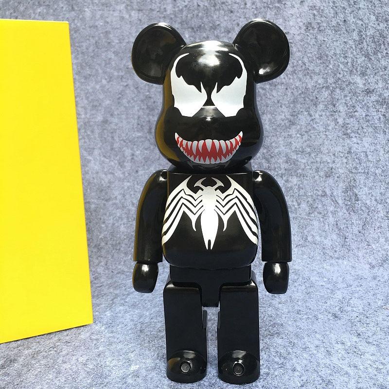 Di trasporto del nuovo Venom Bearbrick Action Figure 400% Be @ rbrick Cos Venom Bambola PVC ACGN figure Toy Brinquedos AnimeDi trasporto del nuovo Venom Bearbrick Action Figure 400% Be @ rbrick Cos Venom Bambola PVC ACGN figure Toy Brinquedos Anime
